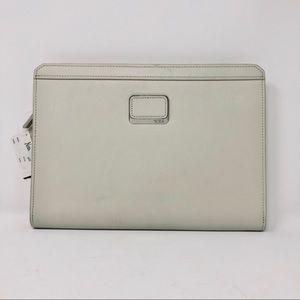 Tumi Astor Dakota Leather Tablet Cover - Ivory